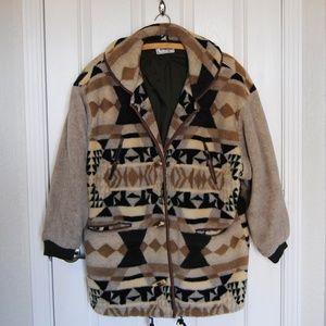 "Vintage Clipper Bay Jacket ""Navajo"" Pattern size M"
